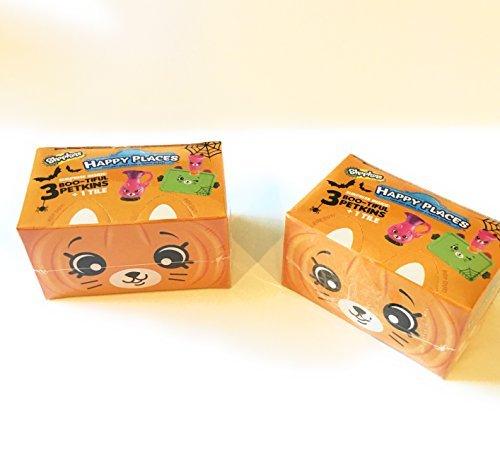 Shopkins Happy Places Halloween Blind Boxes (2-pack bundle!) -