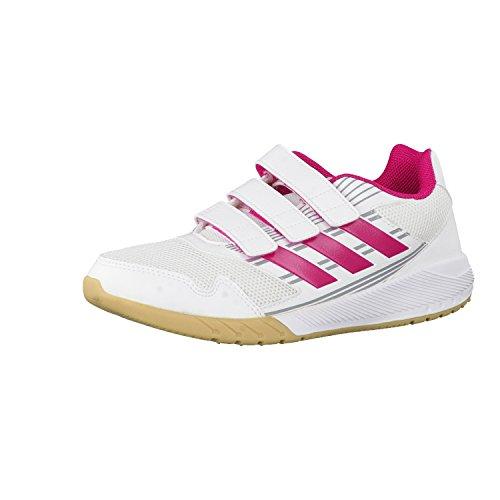 adidas Altarun Cf, Zapatillas de Running Unisex Niños Multicolor (Ftwr White/bold Pink/mid Grey S14)