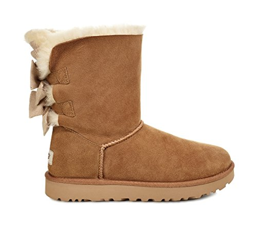 Ruffle W Women's Short Chestnut UGG Fashion Bow Bailey Boot XHnxXaz