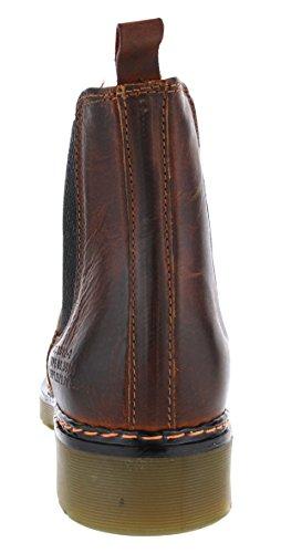 Bullboxer 875M76143CP Damen Chelsea Boots; Leder, Braun