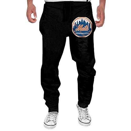 MULY Mens New York Baseball Sweatpants Long Jogging Sweatpants XL