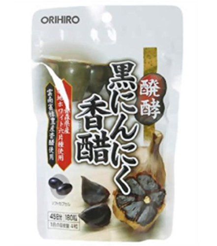 オリヒロ 醗酵黒にんにく香醋 180粒 48個   B07B9VXDYN