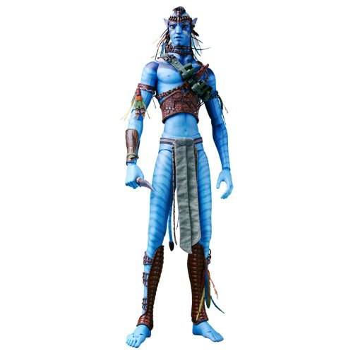 Sideshow Collectibles James Camerons Avatar 18 Inch Deluxe Action Figure Navi Jake Sully ()