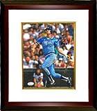 Dale Murphy Signed Autograph Atlanta Braves 8x10 Photo NL MVP 82 83 Custom Framed - Authentic MLB Photos