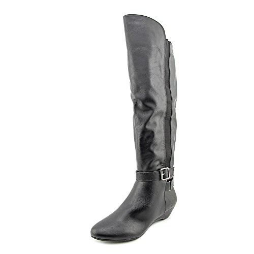 Madden Girl Zilch Tall Boots 6 M, Black