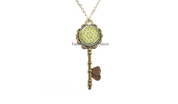 DiamondJewelryNY Eye Hook Bangle Bracelet with a St Uriel The Archangel Charm.