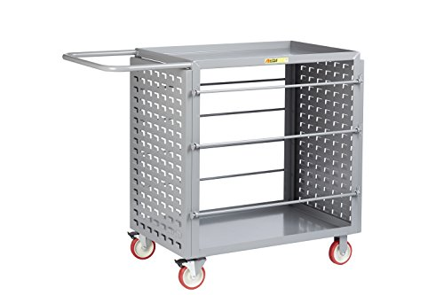 Wire Little Giant (Little Giant RL-LP-2436-TL Wire Reel Cart with Pegboard or Louvered Panels, 54.25