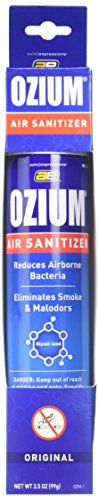 Ozium Glycol-Ized Professional Air Sanitizer / Freshener Original Scent, 3.5 oz. aerosol - Driver Cooking Truck