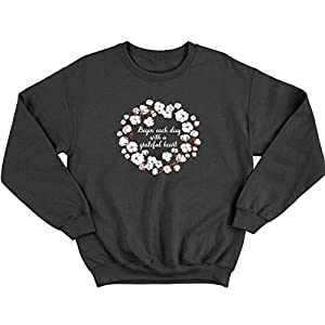 B C Women's Wreath Wreath Floral Sweatshirt S-XXL