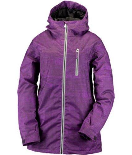 Ride Medinaジャケット(傷印刷)レディーススノーボードジャケット B07CRZ8D1D  パープル X-Small