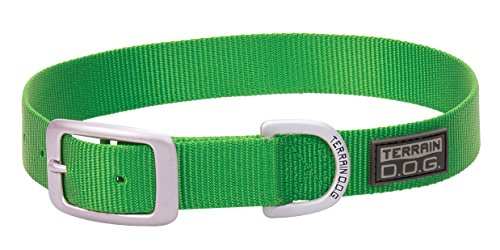 Terrain D.O.G. Nylon Single-Ply Dog (Single Ply Dog Collar)