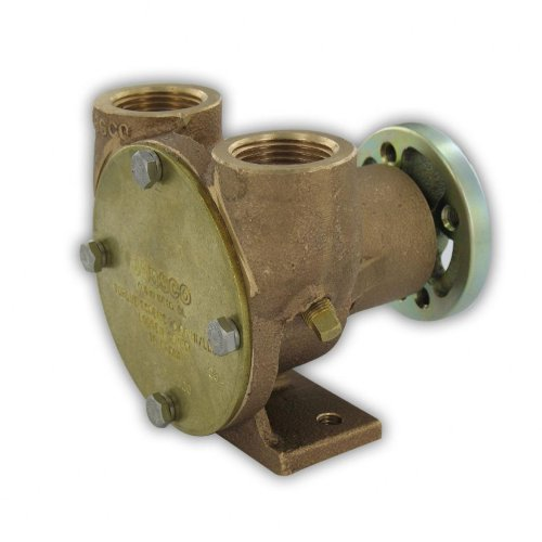 Jabsco 42730-0000 Marine Flexible Impeller Engine Cooling Replacement Pump (Crusader, Pully Drive, 1