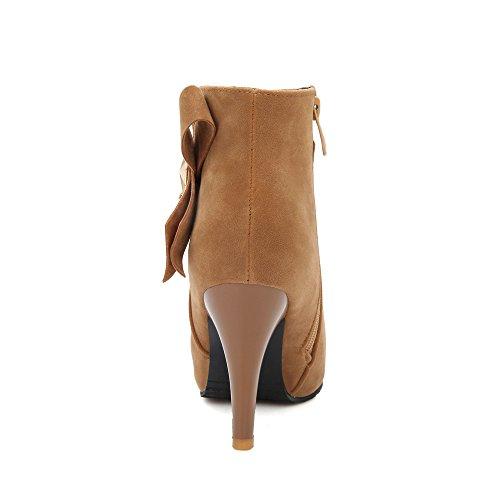 Fashion HeelAnkle Boots - Botas mujer amarillo