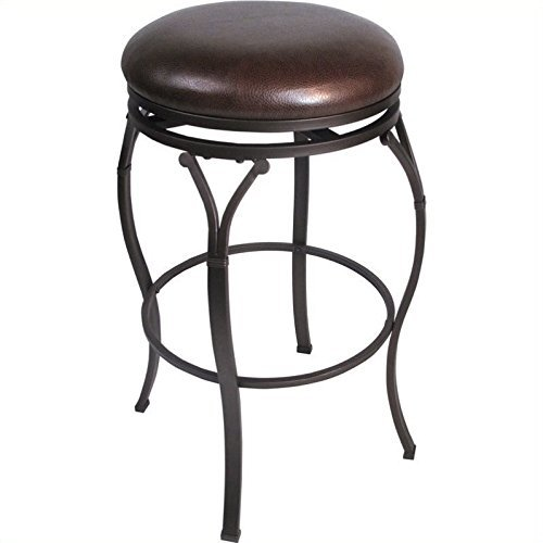 Hillsdale Lakeview Backless Swivel Barstool