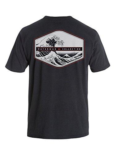 Quiksilver Men's Cold Collect T-Shirt Black L