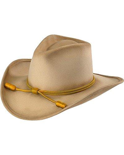John Wayne Men's Hondo Cavalry Hat Silverbelly Medium