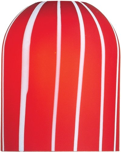 ET2 Lighting EG90903 Carte-Pendant System Carte Red Glass