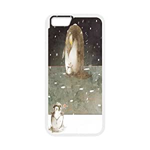 """Cute Penguins Case Cover Best For Apple Iphone 6,4.7"""" screen Cases KHR-U545981"""