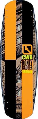 Connelly Honey Badger 2017 Venza Wakeboard for Age (9-12), 139cm/Large/X-Large by CWB