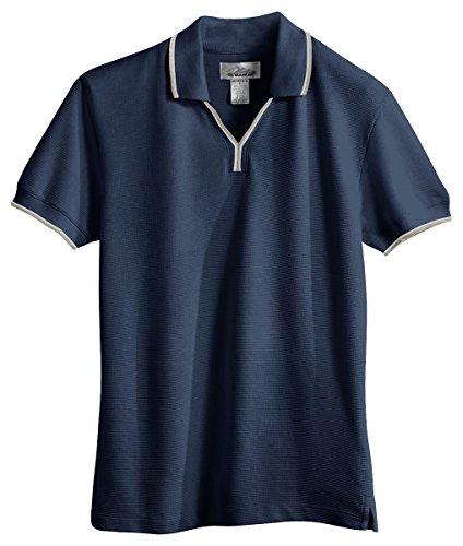 Tri-Mountain Women's Golf Cut Special Mesh Air Circulation Polo Shirt