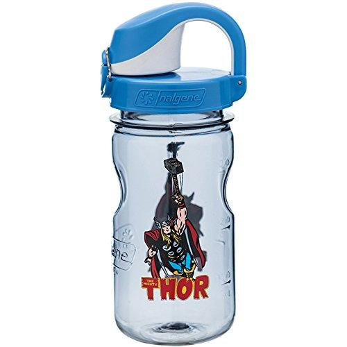 Nalgene Kids OTF Thor Bottle, Gray, 12 oz (Thor Baby Bottles)
