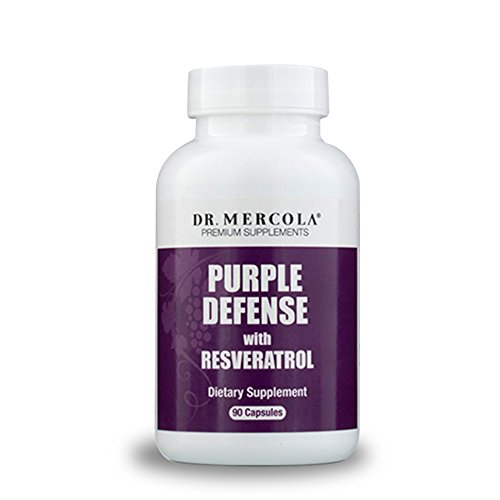Cheap Dr. Mercola Purple Defense – 90 count – Antioxidant Supplement with Grape Seed & Organic Resveratrol – Fights Free Radicals – High Bioavailability