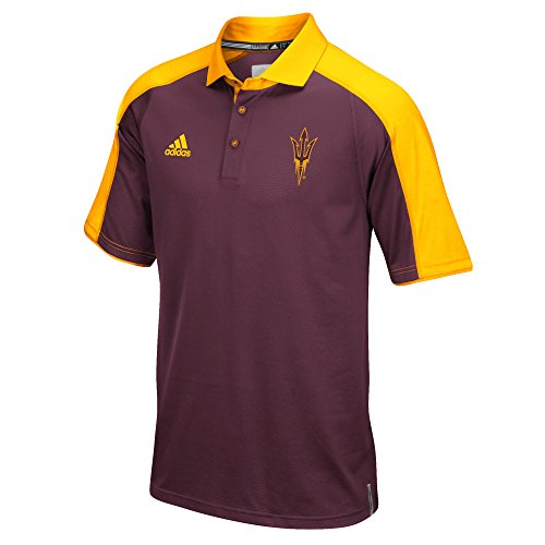 (NCAA Arizona State Sun Devils Men's Sideline Polo, X-Large,)
