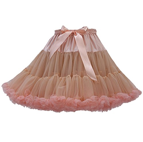 2f0a75c58c2e Tütü Damen Tüllrock Mädchen Tutu Rock Petticoat Unterrock Ballett Kostüm  Tüll Röcke überlagerte Rüsche Festliche Tütüs