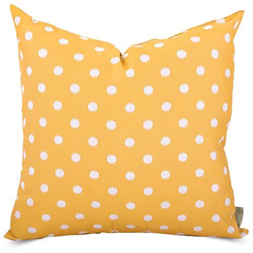 Majestic Home Goods Citrus Ikat Dot Indoor/Outdoor Large Pillow 20