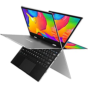 Jumper EZbook X1 11.6 Inch FHD IPS Touchscreen Laptop 360 Degree Rotate Intel Gemini Lake N4100 4GB DDR4 128GB Full Metal Ultrabook Windows 10 Notebook
