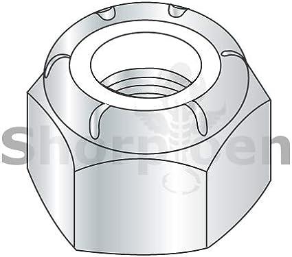Nylon Insert Hex Lock Nut 18 8 Stainless Steel 5//16-18 NE by Shorpioen BC-31NS188-10 Box of 10