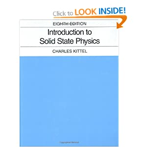 Introduction to Solid State Physics Charles Kittel