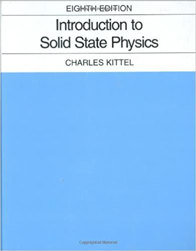 Introduction to solid state physics charles kittel 9780471415268 introduction to solid state physics charles kittel 9780471415268 amazon books fandeluxe Images