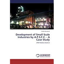 Development of Small Scale Industries by A.P.S.F.C. - A Case Study: SPSR Nellore District