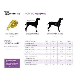 RC Pet Products Packable Dog Rain Poncho Sunshine - XX Large