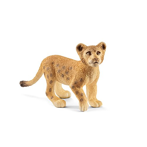Schleich Lion Cub Toy Figurine - Lion Cub Figurine