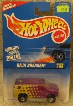1996 HOT WHEELS BAJA BREAKER-COLLECTOR #128-WITH OPENING HOOD