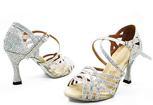 Minitoouk 35 Donna 9cm silver Minitoo Heel l357 Da Argento Sala pxnOfw6