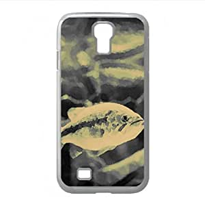 Fish Black And White Watercolor style Cover Samsung Galaxy S4 I9500 Case