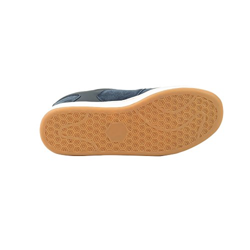 Scarpe Antinfortunistiche In Punta Di Sicurezza - Stile Pattinatore, Scarpe Antinfortunistiche Con Puntale Di Sicurezza - Puntale In Acciaio Più Antiscivolo E Resistente Ai Rischi Elettrici- Blu