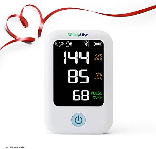 Welch Allyn Home Series Blood Pressure Monitor with Simple Smartphone Connectivity