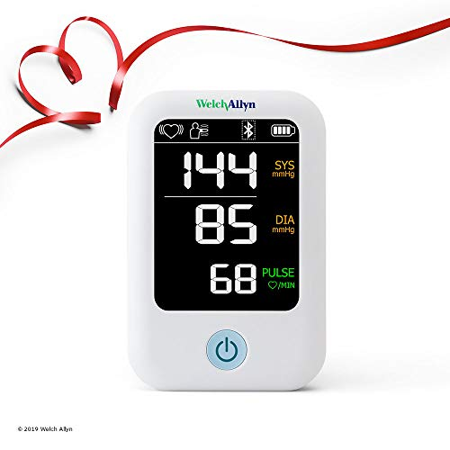 Welch Allyn Home 1700 Series Blood Pressure Monitor and Upper Arm Cuff, Clinical-grade Technology and Easy Bluetooth Smartphone Connectivity HBP100SBP ()