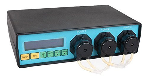 Marine Color Dosing Pump MCD-3-M Manage up to 6 Channel of Expansion for Aquarium Lab Reef (Best Reef Dosing Pump)