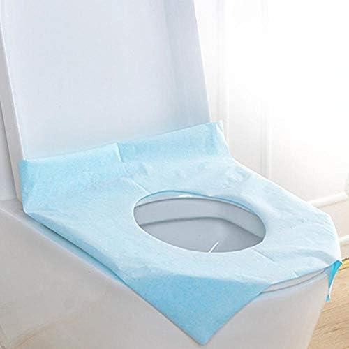 10ピースセットの使い捨て紙旅行衛生ポータブル防水トイレシートクッションパッドカバー保護カバー浴室用品