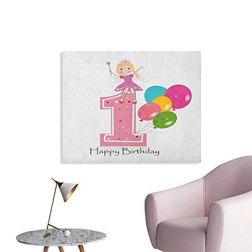 My Little Pony With Moon And Wand - Anzhutwelve 1st Birthday Wall Sticker Decals