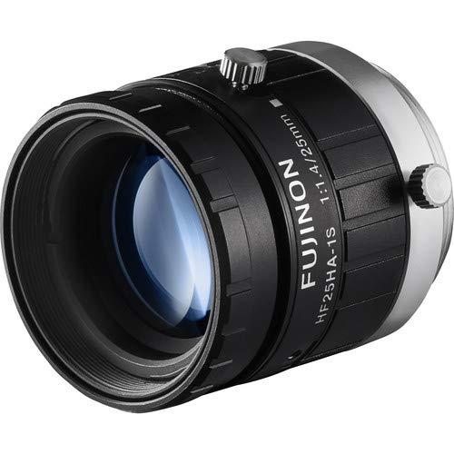 Fujinon HF25HA-1S 2/3'' 25mm F1.4 Manual Iris C-Mount Lens, 1.5 Megapixel Rated, Anti-Shock & Vibration Feature by Fujinon