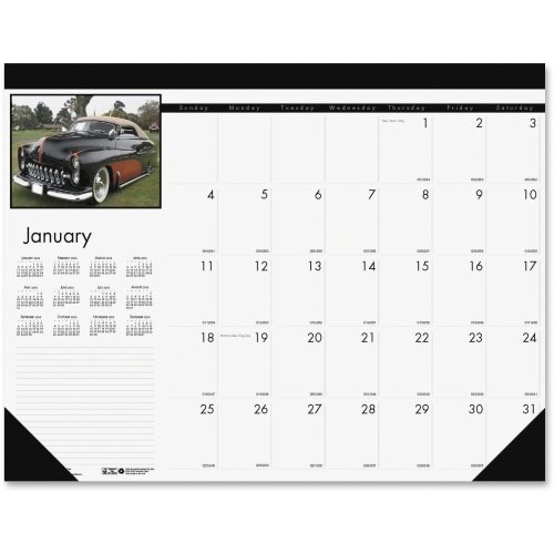 Doolittle Classic Cars - Bulk 2019 Classic Cars Compact Desk Pad Calendars: HOD1696 (18 Desk Pad Calendars)