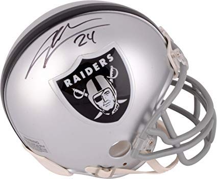 (Charles Woodson Oakland Raiders Signed Autograph Mini Helmet Steiner Sports Certified)