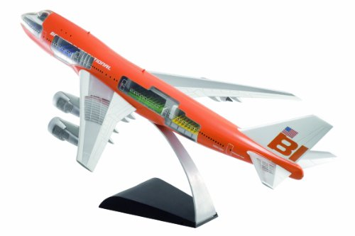 Dragon Models 1/144 Braniff International 747-100 Flying Colors (Project Cutaway)