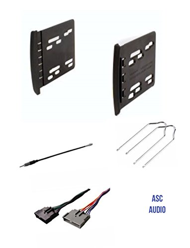 eo Dash Install Kit, Wire Harness, Antenna Adapter, and Radio Tool for Installing an Aftermarket Double Din Radio for some 2000 - 2004 Ford Focus, 1999 - 2000 Mercury Cougar ()